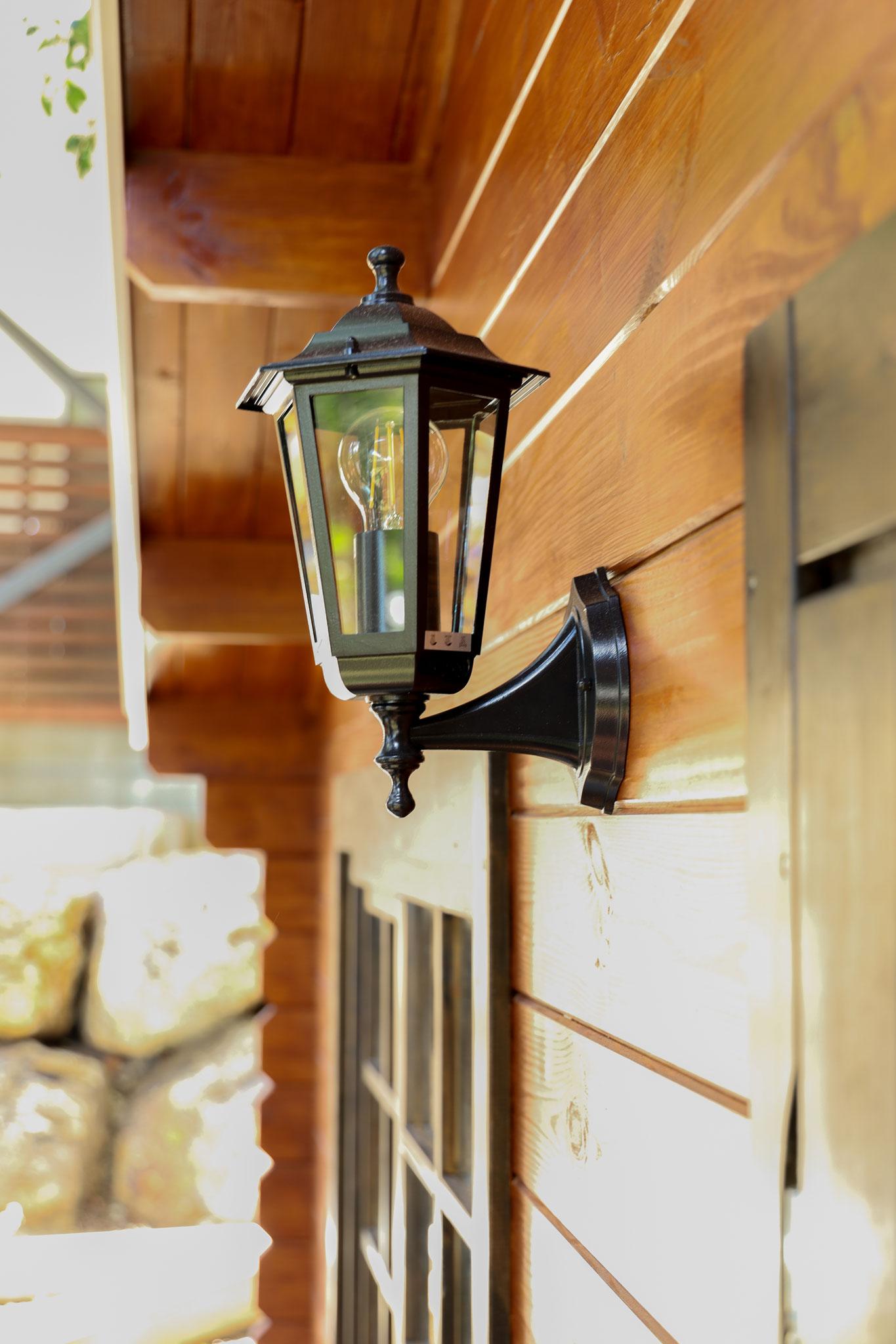 Adams Cabins Outdoor Light